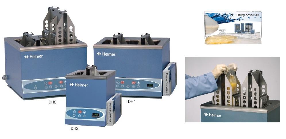 Oryginalne worki do rozmrażania osocza HELMER / Łaźnie wodne Helmer (DH2/DH4/DH8)